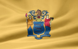 Flag of New Jersey Stock Photos