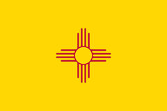 Flag of New Mexico Stock Images
