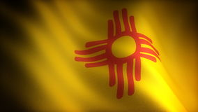 Flag of New Mexico Stock Photography