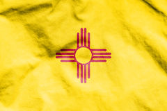 Flag of New Mexico, USA. Royalty Free Stock Photos