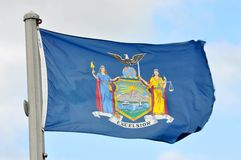 Flag of New York State Royalty Free Stock Image