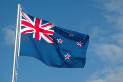 Flag of New Zealand Royalty Free Stock Images