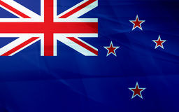 Flag of new zealand Royalty Free Stock Photos