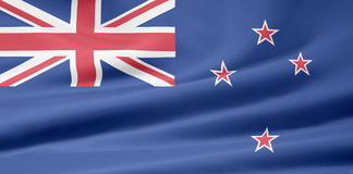 Flag of New Zealand Stock Images