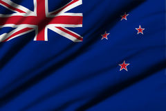 Flag of New Zealand Stock Image