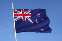 Flag of New Zealand Stock Photo