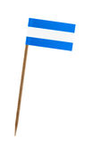 Flag of Nicaragua Royalty Free Stock Photos