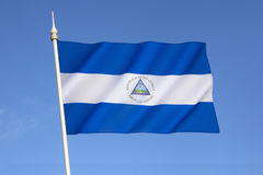 Flag of Nicaragua Stock Photos