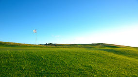 Nice golf course Stock Photography