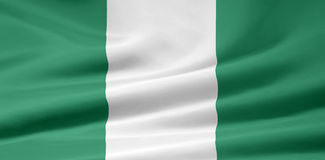 Flag of Nigeria Royalty Free Stock Photos