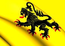 Flag of Nord-Pas de Calais Stock Images