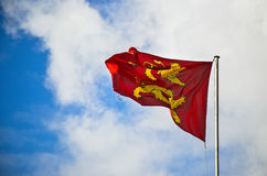 Flag of Normandy Royalty Free Stock Photography