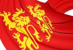Flag of Normandy Stock Photos