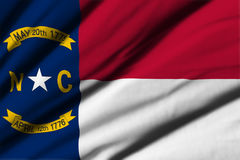Flag of North Carolina Stock Photos