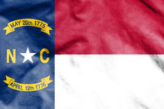 Flag of North Carolina, USA. Stock Photos