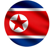 Flag of North Korea Stock Photos
