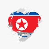 Flag of North Korea Royalty Free Stock Photos