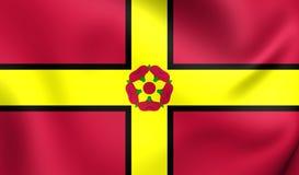 Flag of Northamptonshire County, England. Royalty Free Stock Image