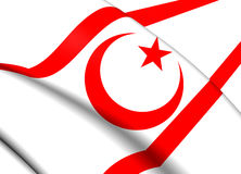 Flag of Northern Cyprus Stock Photography