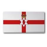 Flag of Northern Ireland Stock Photo