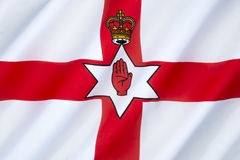 Flag of Northern Ireland - United Kingdom Stock Photo