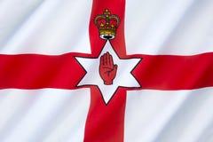Flag of Northern Ireland - United Kingdom stock photo