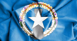 Flag of Northern Mariana Islands. Royalty Free Stock Images