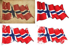 Flag of Norway Stock Photos