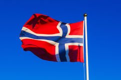 Flag of Norway Royalty Free Stock Photos