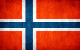 flag of Norway Stock Photography