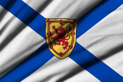 Flag of Nova Scotia Stock Photography
