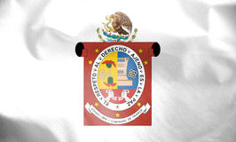 Flag of Oaxaca, Mexico. Royalty Free Stock Photos