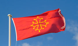 The flag of Ocsitania Royalty Free Stock Images