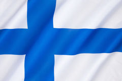 Free Flag Of Finland Royalty Free Stock Images - 50551099