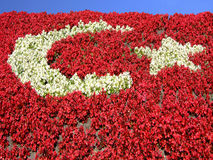 Flag Of Flowers Stock Images