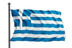 Flag Of Greece Stock Photography