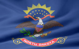 Free Flag Of North Dakota Royalty Free Stock Images - 5968219