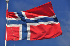 Flag Of Norway Royalty Free Stock Images