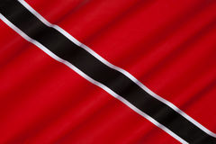 Flag Of Trinidad And Tobago Royalty Free Stock Photography