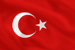 Free Flag Of Turkey Stock Photo - 4985180