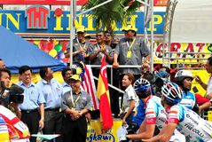 Flag off at LTDL Stage 7 Starting Point Royalty Free Stock Photography