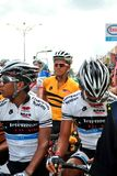 Flag off at LTDL Stage 7 Starting Point Stock Image