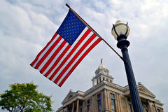 Flag in Ohio Stock Photography