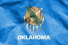 Flag of Oklahoma, USA. 3d Rendered Flag of Oklahoma, USA Royalty Free Stock Photos