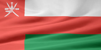Flag of Oman Royalty Free Stock Images
