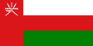 Flag of Oman Stock Image