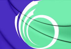Flag of Ottawa, Canada. Royalty Free Stock Image