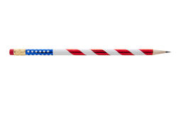 Flag Painted Pencils Royalty Free Stock Images