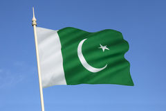 Flag of Pakistan royalty free stock photography
