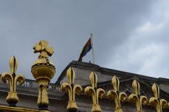Flag on the Buckingham Palace Royalty Free Stock Image